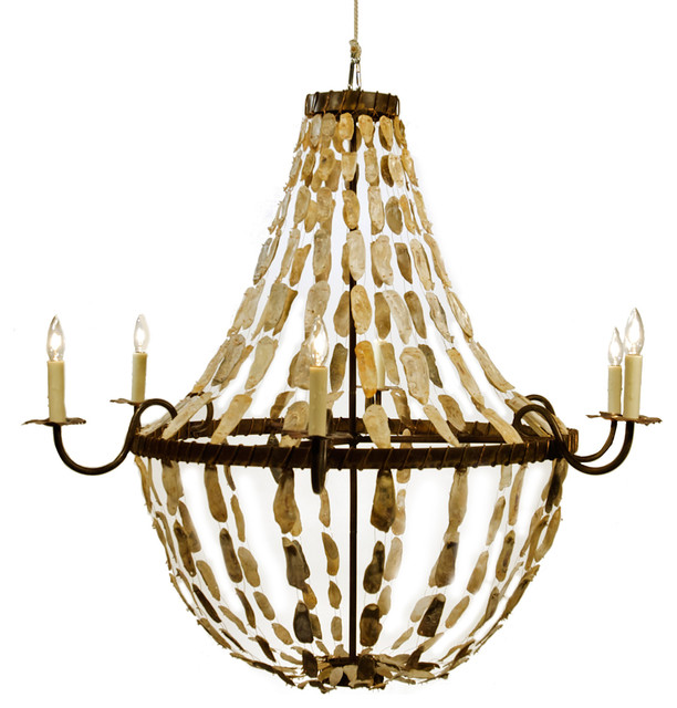Lowcountry Originals May River Empire Rustic Chandelier
