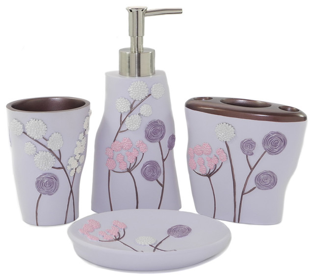 purple bathroom set lavender bathroom decor purple bathroom