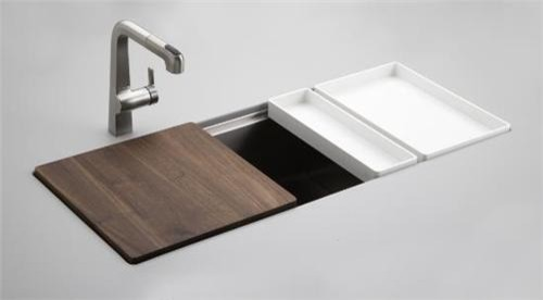 Stainless Steel Kitchen Sink Contemporary Kitchen