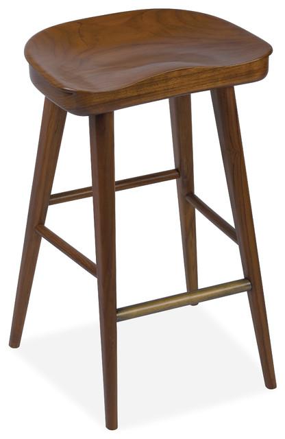 Balboa Counter Stool Hazelnut Midcentury Bar Stools  : midcentury bar stools and kitchen stools from www.houzz.co.uk size 416 x 640 jpeg 45kB