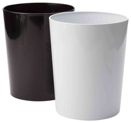 Vue Waste Can contemporary-wastebaskets