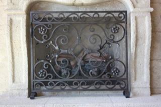 Acc 029 Custom Iron Fireplace Screens Mediterranean