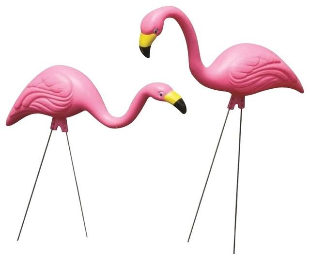 Bloem 2 Pack Pink Flamingo G2 Modern Outdoor Decor