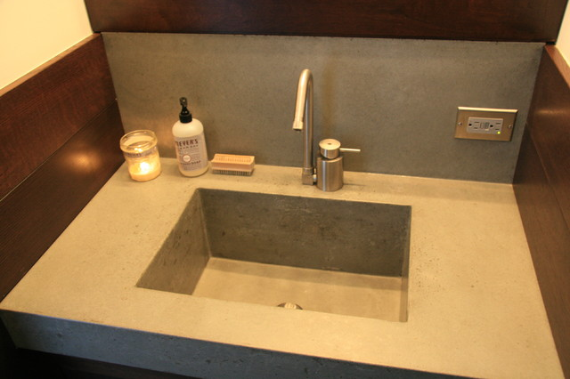 concrete bathroom sink contemporary bathroom sinks new york by concrete shop. Black Bedroom Furniture Sets. Home Design Ideas