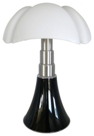 Lampe pipistrello martinelli noir brillant contemporary table lamps oth - Lampe pipistrello noire ...