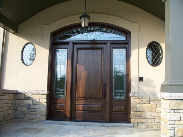 Luxury residential 2 for Traditional front doors