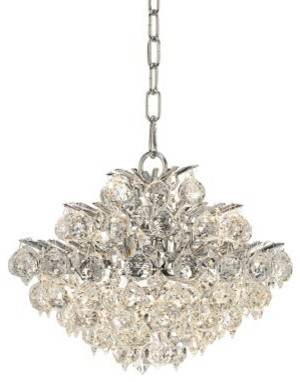 Vienna Full Spectrum Chrome And Crystal Chandelier
