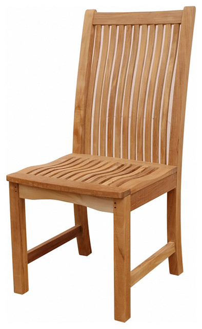 Anderson Teak Patio Lawn Garden Furniture Chicago Chair Contemporary Outdoor Dining Chairs