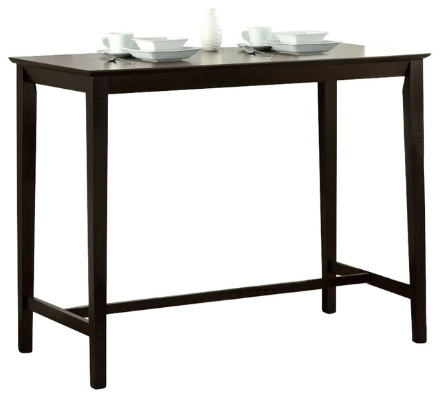 Monarch Specialties 48x24 Counter Height Kitchen Table Traditional dining tables