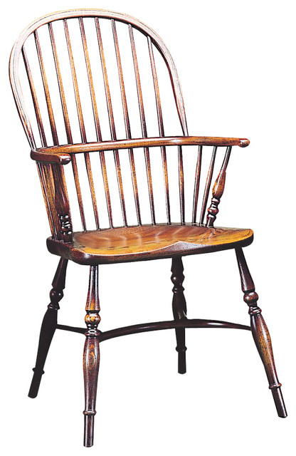 Stick Back Windsor Chair Turned Stumps Traditional