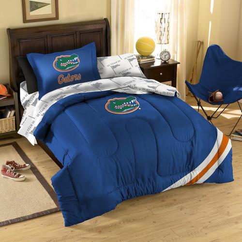 College florida gators bed in bag set modern beds - Florida gators bathroom decor ...