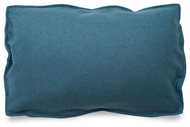 Modern Rectangle Pillow : Blu Dot Rectangle Pillow, Aqua - Modern - Decorative Pillows - by Blu Dot