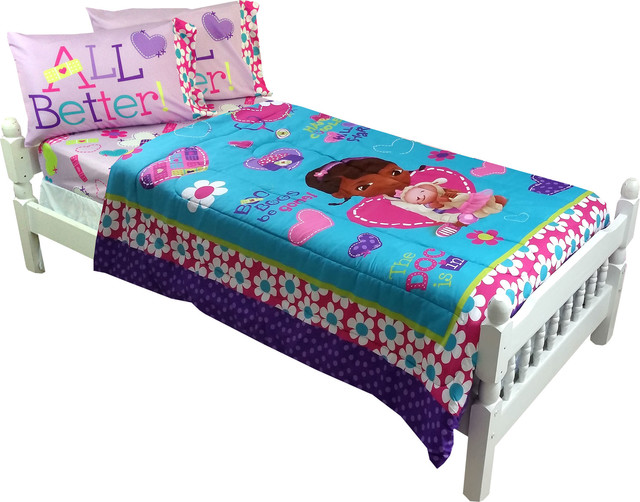 doc mcstuffins bedding doctor no more boo boos bed set contemporary bedding by obedding