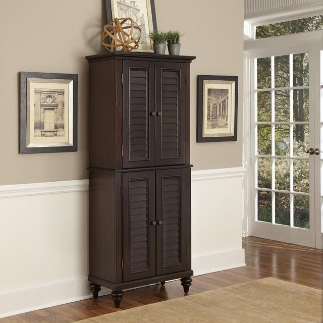 ... Espresso Pantry Dark Brown - 5542-69 contemporary-pantry-cabinets