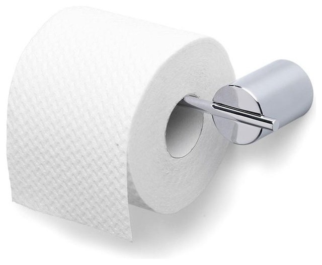 Duo Polished Toilet Paper Holder US Sized Rolls Contemporary Toilet Pap