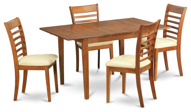 5 piece small kitchen table set tables and 4 dining room