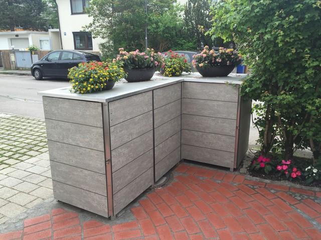 moderne m llbox mit zugriff von vorne und hinten modern. Black Bedroom Furniture Sets. Home Design Ideas