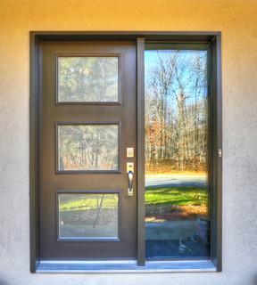 doors and windows - Contemporary - Front Doors - Montreal - by GIT Aluminium