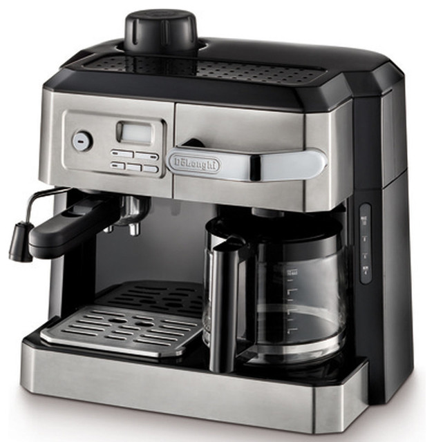 Cappucino and Espresso Machine With Programmable Timer, Stainless Steel - Espresso Machines - by ...