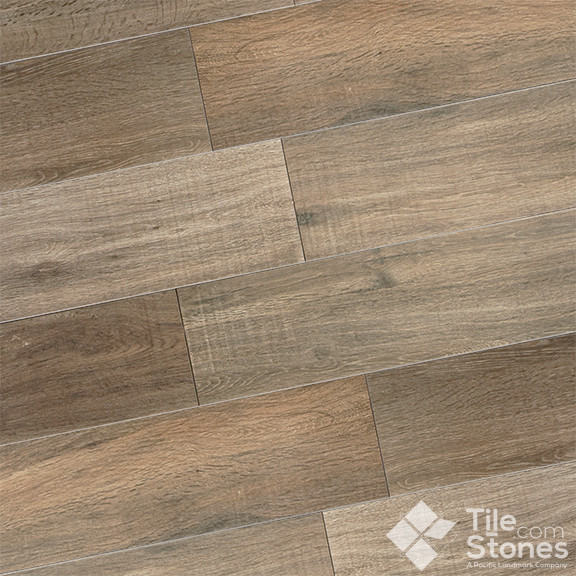 Wood Plank Porcelain Tile Modern Wall And Floor Tile Other By