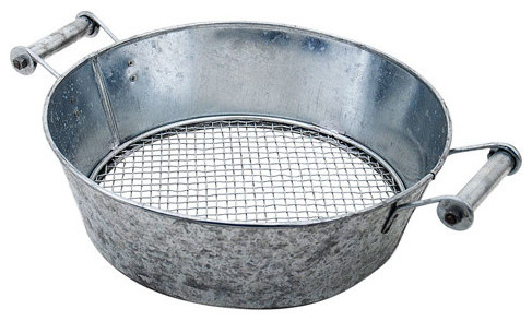 Compost sifter modern sieves by bellacor for Achla designs cp 03 kitchen compost pail