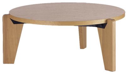 Jean prouve gueridon bas table modern coffee tables by nestliving closed - Jean prouve coffee table ...