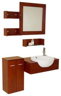 25 5 Inch Modern Bathroom Vanity Contemporary Bathroom Vanity Units