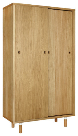 graf buffet haut en bois moderne buffet et bahut par habitat officiel. Black Bedroom Furniture Sets. Home Design Ideas