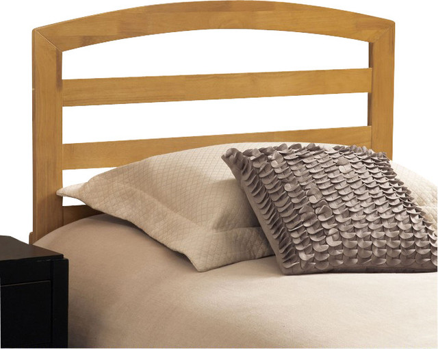 Hillsdale sophia wood headboard with rails in natural Traditional wood headboard