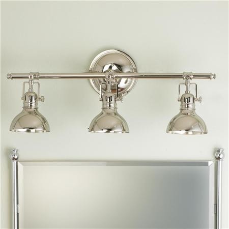 Pullman Bath Light 3 Light Transitional Bathroom Vanity Lighting By Shades Of Light