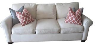 Pottery barn buchanan sofa sofas new york by aptdeco for Buchanan chaise sofa from pottery barn