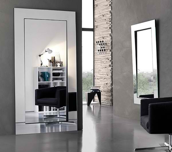 Gerundio mirror contemporary bathroom mirrors for Large contemporary mirrors