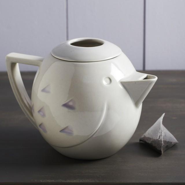 Ceramic Bird Teapot - Modern - Teapots - by Graham and Green
