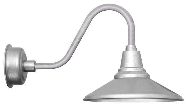 Calla LED Gooseneck Barn Light Contemporary Outdoor Wall Lights By Coco