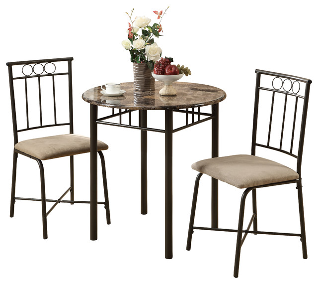 bistro set transitional indoor pub and bistro sets by monarch