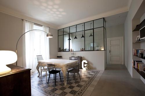 finestra tra cucina e soggiorno idee per il design della