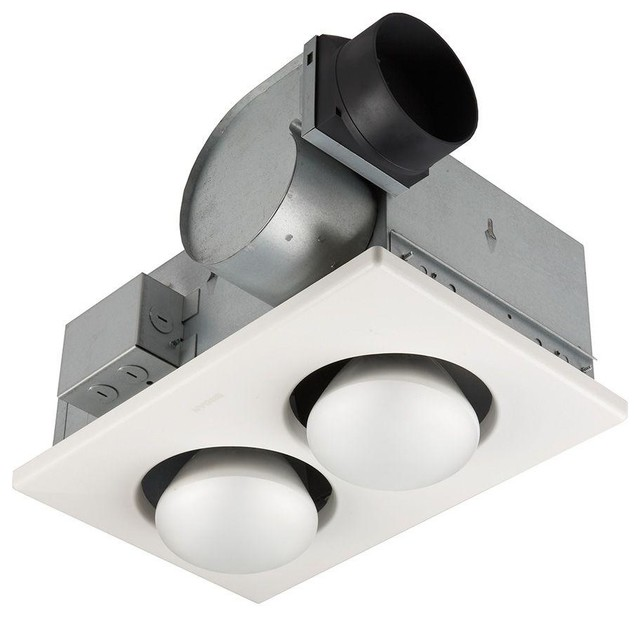 NuTone 70 CFM Ceiling Exhaust Fan With 2