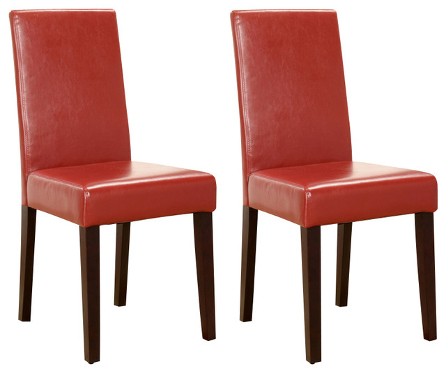 Parson Chairs Set Of 2 Transitional Dining Chairs By 2K Furniture Designs