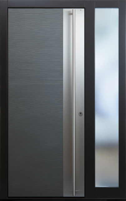 New Exterior door models - Modern - Front Doors - new york - by Bella Porta