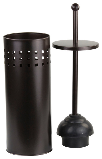 orb toilet plunger contemporary toilet plungers holders by home basics. Black Bedroom Furniture Sets. Home Design Ideas