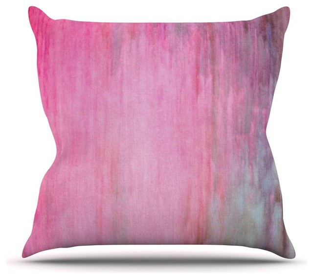 Blush Pink Decorative Pillow : Iris Lehnhardt