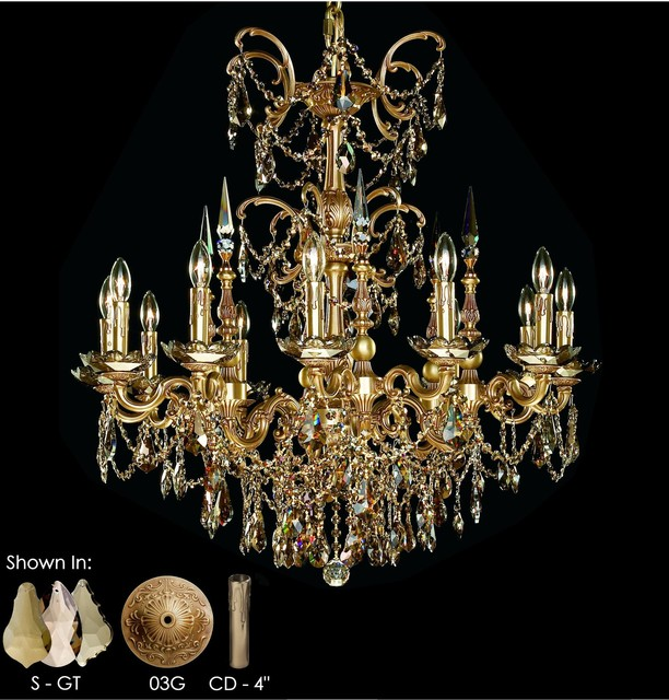 Venetian Italian Style Four Light Crystal Chrome Finish Chandelier Smoke Furniture Decorations