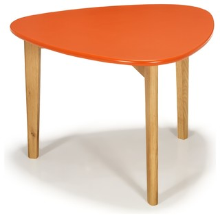Siwa table basse scandinave vintage corail 60cm - Table basse cocktail scandinave ...