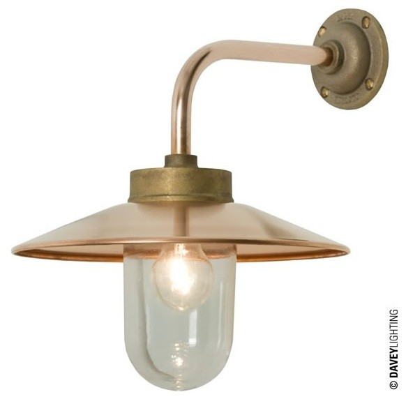 Davey Exterior Wall Lights : Davey 7680 Exterior Bracket Light Gunmetal - Industrial - Outdoor Wall Lights And Sconces ...