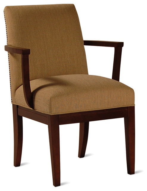 Etesian Baja Wood Arm Chair Transitional Dining Chairs  : transitional dining chairs from www.houzz.co.uk size 494 x 640 jpeg 54kB