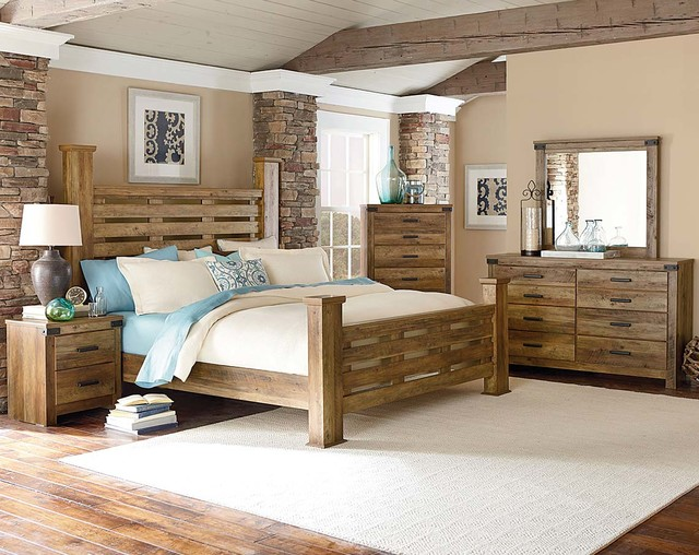 Montana Bedroom Set Rustic Bedroom By American Freight Furniture