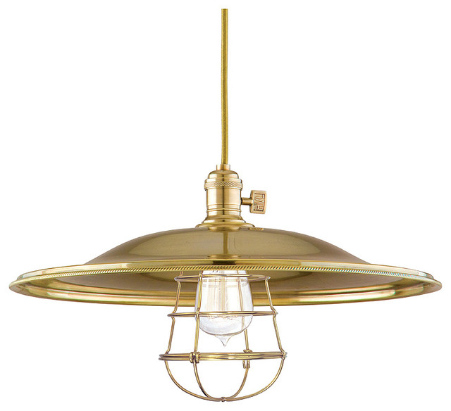 Hudson valley lighting 8001 agb ml2 wg heirloom aged brass for Houzz rustic lighting