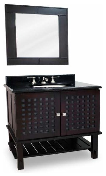 Lyn Design Manhattan Espresso 31 3 8 X 34 Espresso Vanity Bathroom Vanities