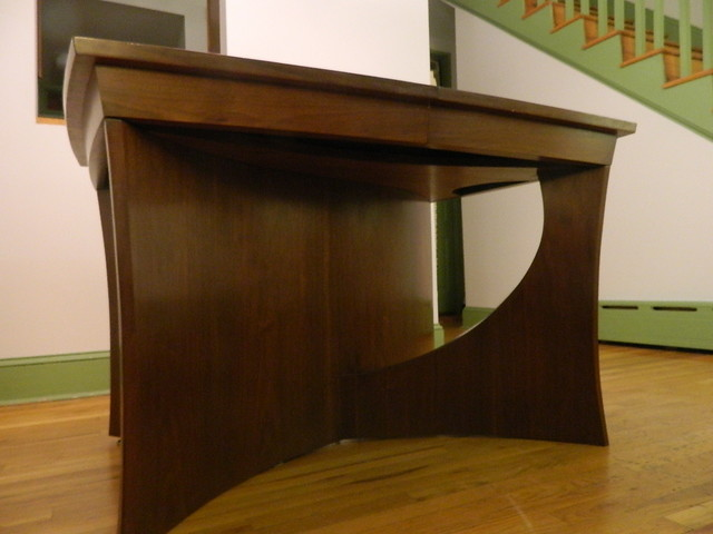 Hall residence contemporary dining tables for Dining hall furniture