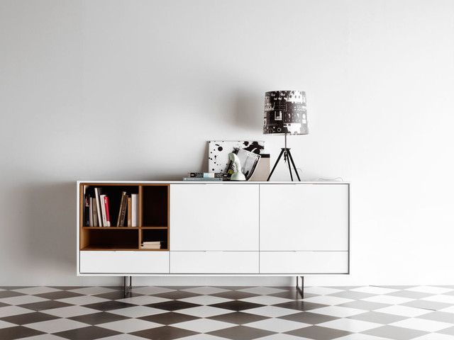 treku aura s2 sideboard bauhaus look sideboards von. Black Bedroom Furniture Sets. Home Design Ideas